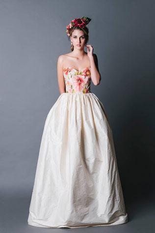 565-svadebnie-platya-s-cvetochnym-printom Свадебные платья с цветочным принтом, очаровательный и модный тренд в свадебной моде