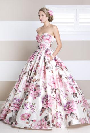 88svadebnie-platya-s-cvetochnym-printom Свадебные платья с цветочным принтом, очаровательный и модный тренд в свадебной моде