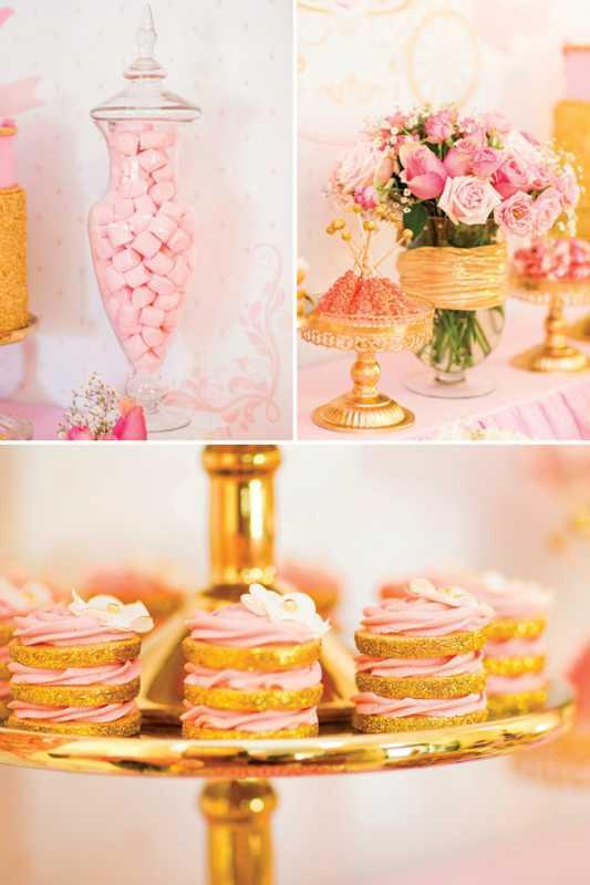 kendi-bar-dlya-printsessy-na-devichnik-4 Розовой Кенди Бар для девичника, специально для тех невест, которые считают себя невестами