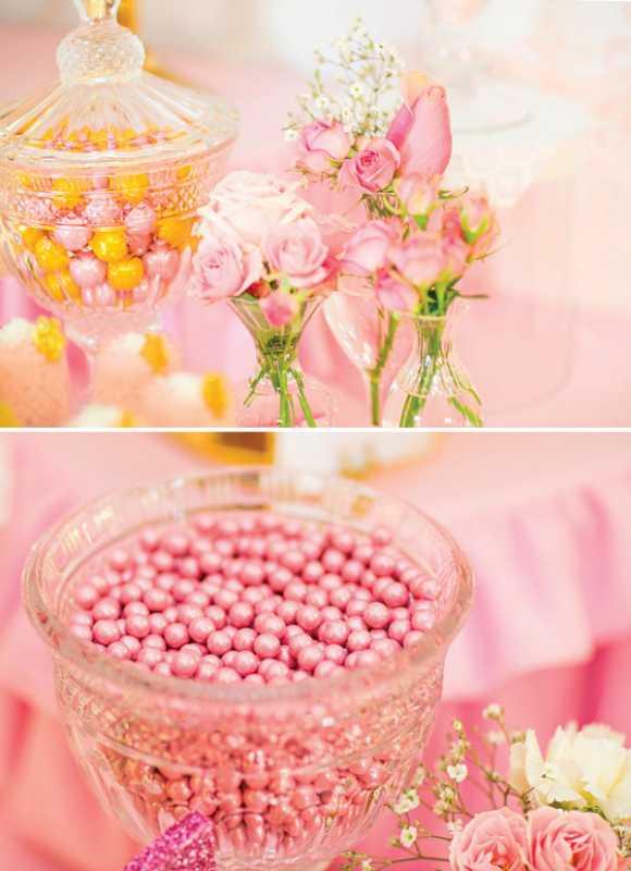 kendi-bar-dlya-printsessy-na-devichnik-7 Розовой Кенди Бар для девичника, специально для тех невест, которые считают себя невестами