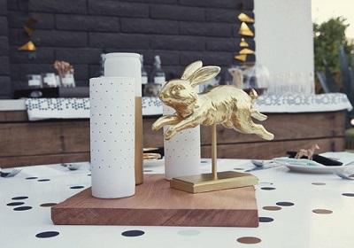svadba-v-stile-zolotye-figurki-4 Свадебный декор- идеи и решения для декорирования свадьбы.