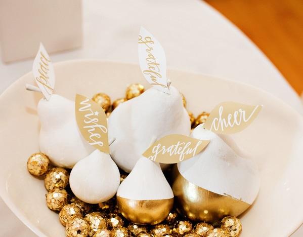 zolotoj-kendi-bar-na-svadbe-2 Богатство и роскошь золотого Кенди Бара на свадьбе, чем удивить гостей