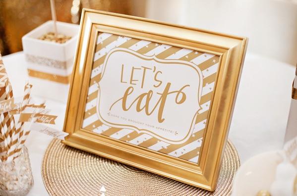 zolotoj-kendi-bar-na-svadbe-6 Богатство и роскошь золотого Кенди Бара на свадьбе, чем удивить гостей