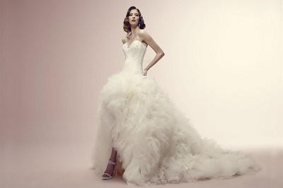 Коллекция свадебных платьев от Alessandra Rinaudo идеальный вариант наряда для утонченных и романтичных невест