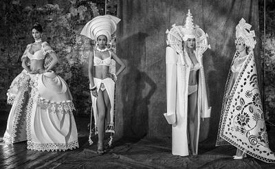 """Свадебная коллекция нижнего белья Дикая Орхидея под лозунгом """"У любви нет национальности"""""""