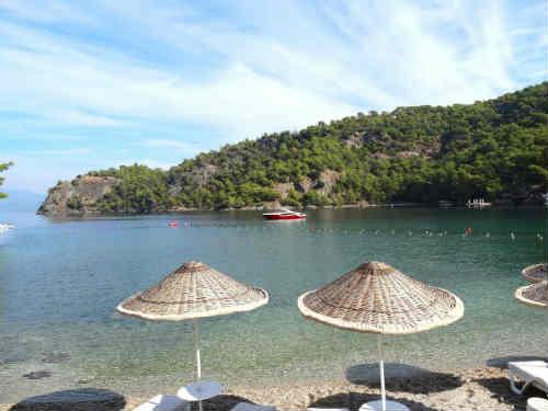 Турецкий отель создал атмосферу вечной любви для медового месяца новобрачных