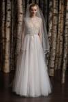 Naeem-Khan1-100x150 Свадебные платья с иллюзией декольте